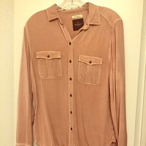 Soft long sleeve button down.